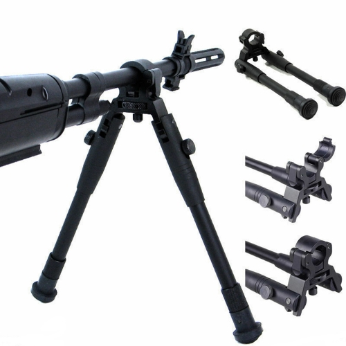 Durable Adjustable Fold 8-10 INCH Legs Spring Return Tactical Bipod For Hunting Rifle