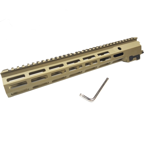 13.5 Inch MK16 Rail Handguard Paintball Accessories part Fighting Bro Metal refit accessories gel blaster accessories